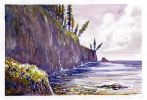 Cape Meares - Watercolor